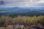 Hochwald-Aussicht - Richtung Tschechien