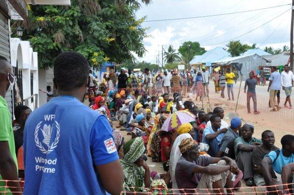 Cabo Delgado refugees in Palma, Mozambique