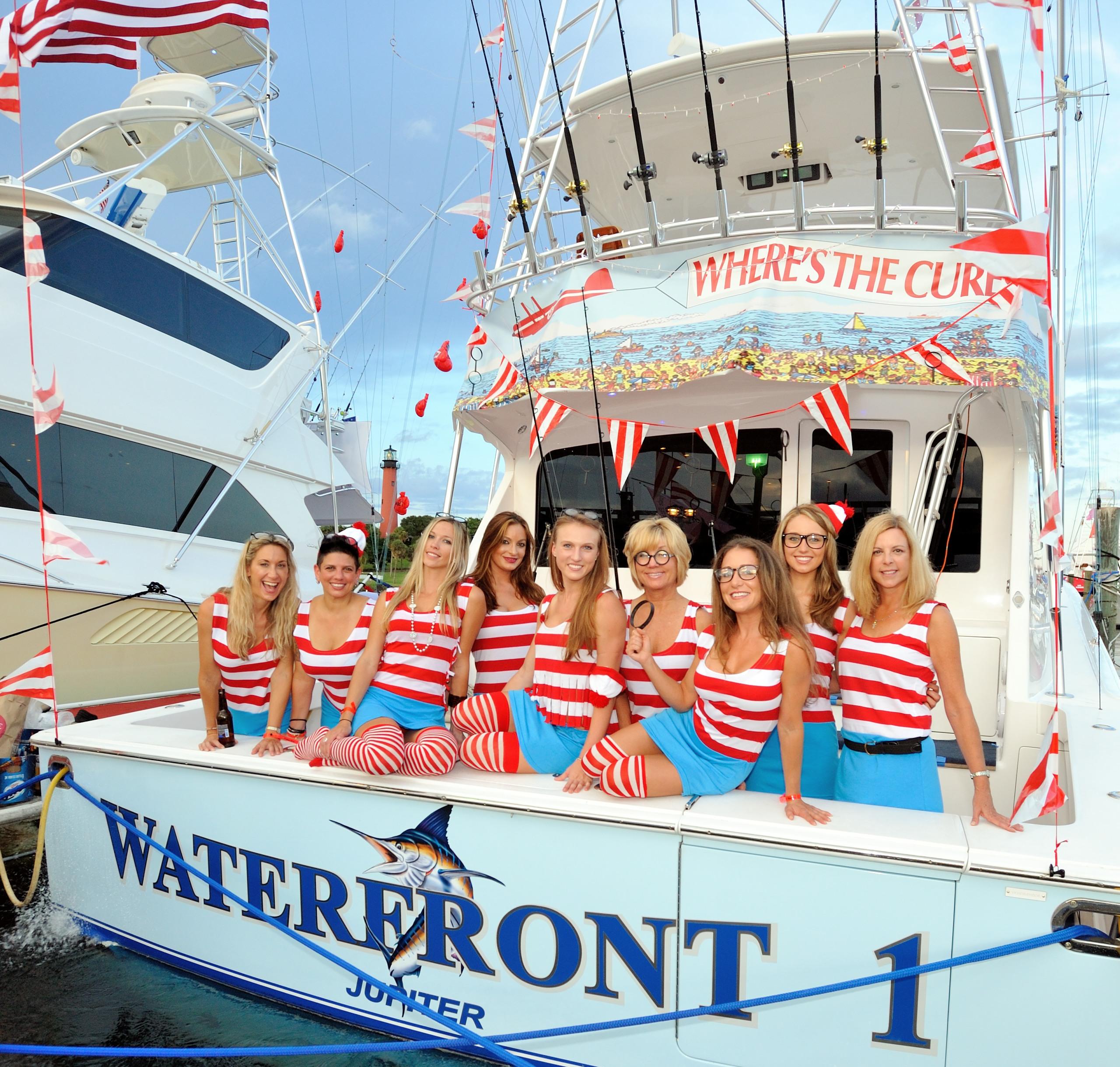 The Wheres Waldo  Blue Water Babes Fishing Team