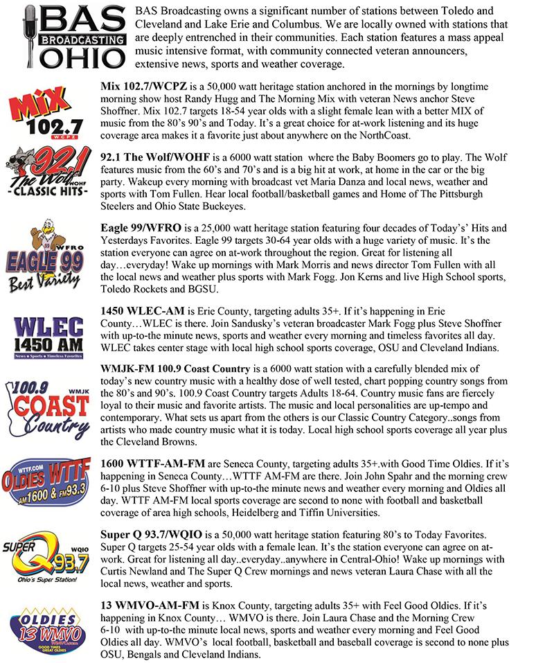 BAS Media Kit | WFRO
