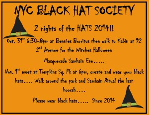 Black Hat Society NYC