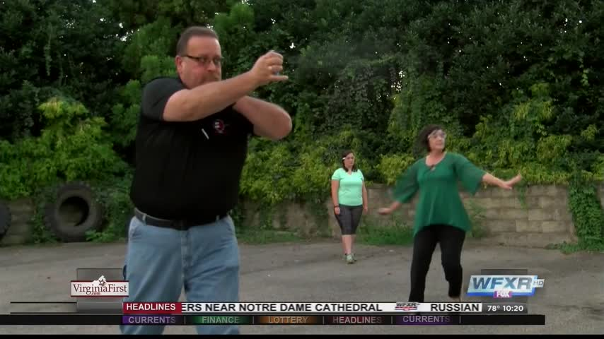 Self-defense class teaches proper use of pepper spray_78154031-159532
