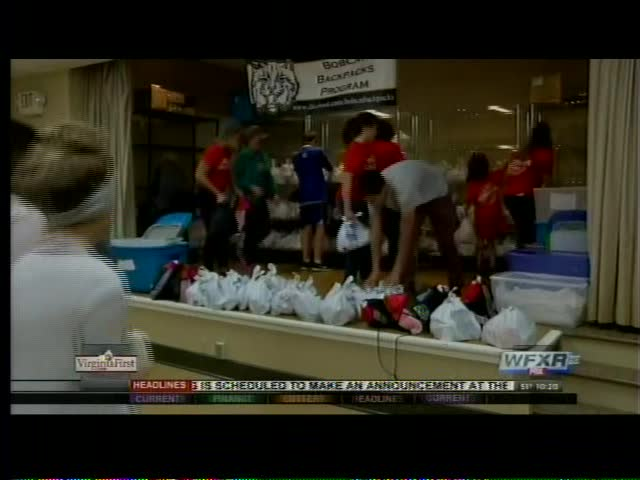 Bobcat Backpacks Program gets big donation_88980560-159532