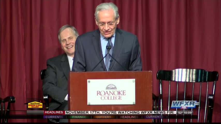 Bob Woodward speaks at Roanoke College_50167932-159532