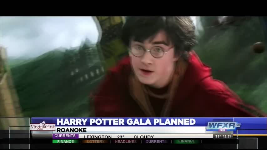 Salvation Army harry potter gala