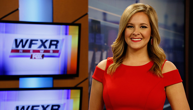 Stacey Spivey, WFXR News Anchor