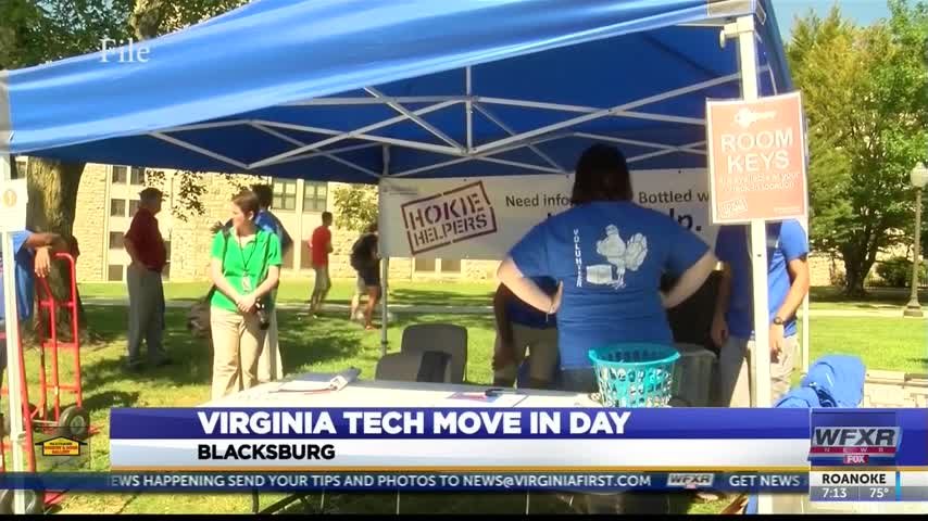 Virginia Tech Move In Day_23199390