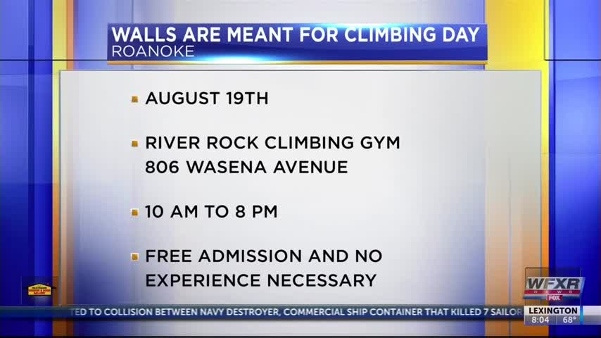 Walls are meant for climbing day event_19837173