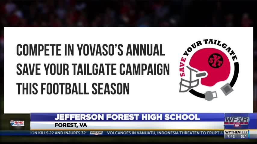 Save Your Tailgate Campaign at Jefferson Forest High School