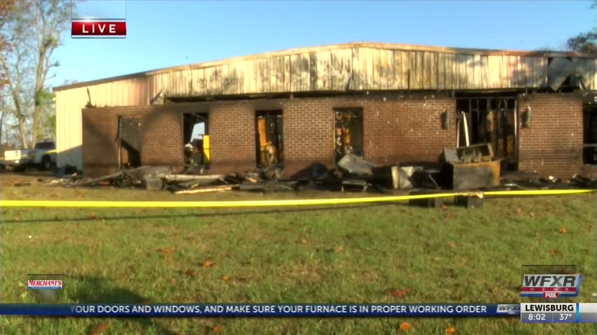 Early morning fire in Appomattox Co- at TriTech_35262108