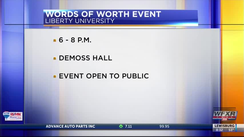 Words of Worth Event at Liberty University_03501335