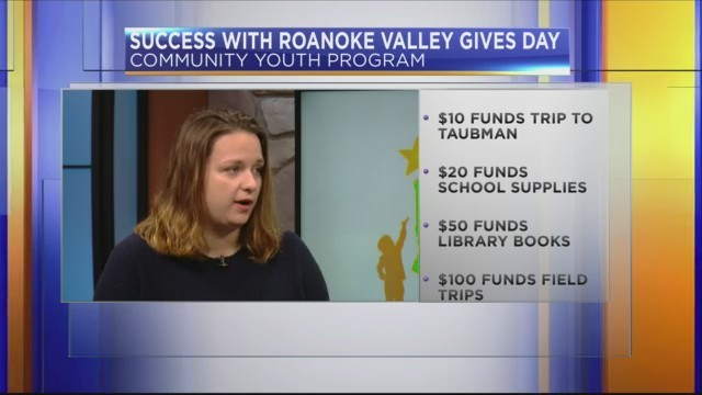 Roanoke Valley Gives: Community Youth Program