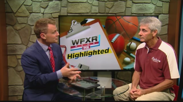 WFXR Sports Highlighted with coach Wes McMillan