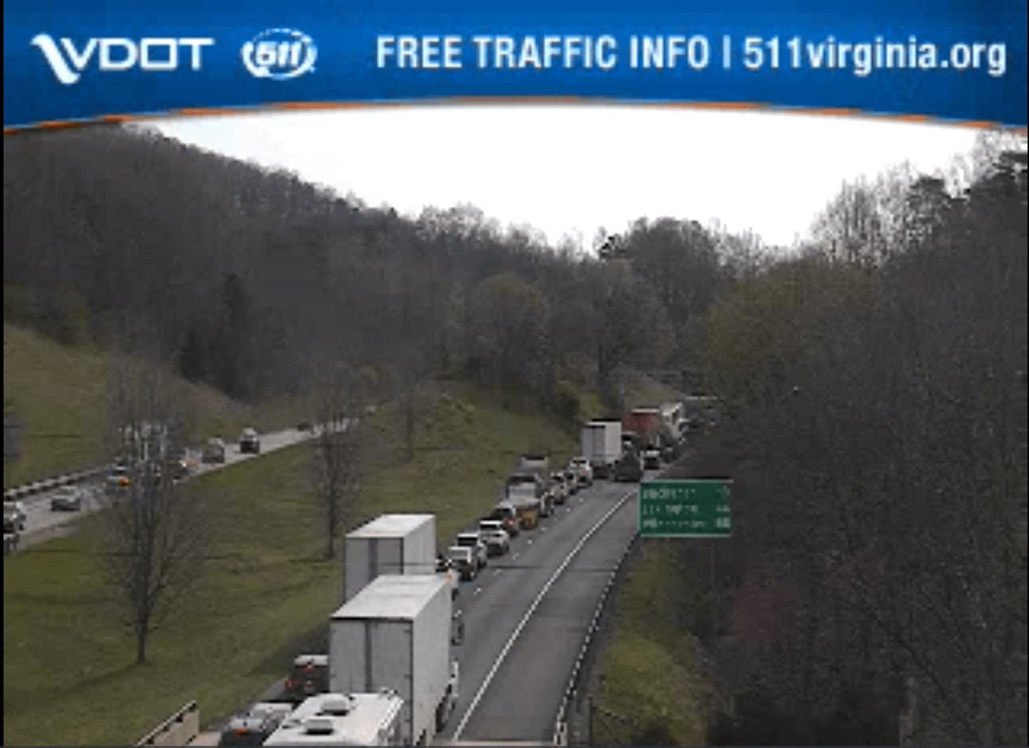 TRAFFIC ALERT: Vehicle accident causing delays on I-81 in Botetourt Co