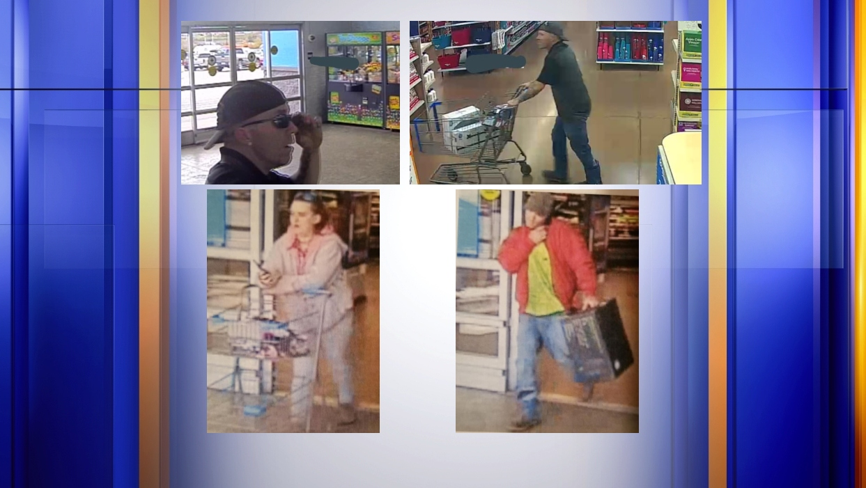 Pulaski Deputies searching for suspects who stole multiple