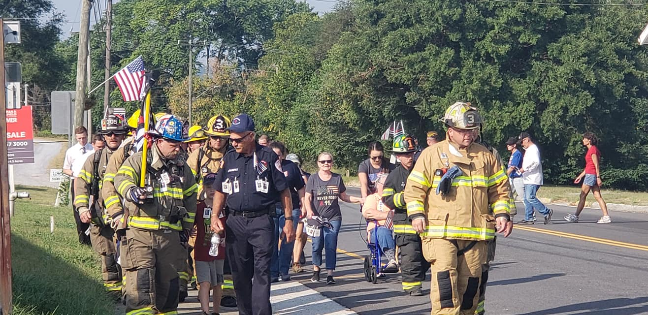 Buchanan VFD holds 9/11 Memorial Walk, pays tribute to