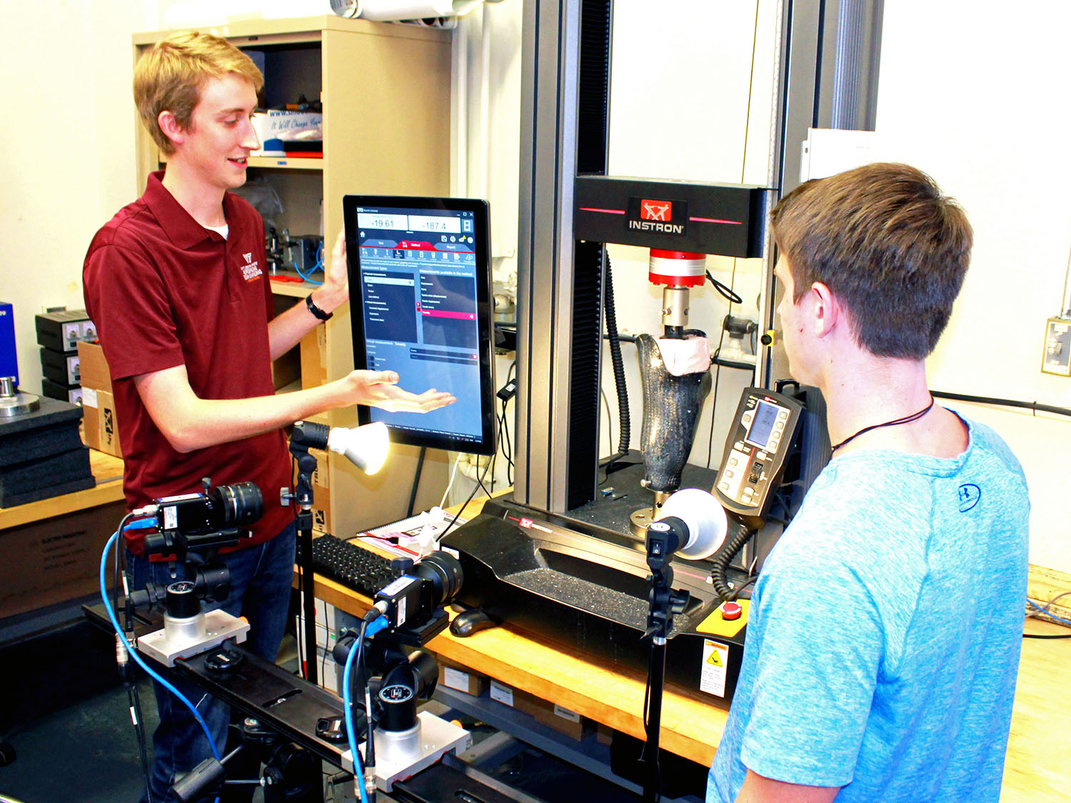 Researchers at Virginia Tech (VT) are recipients of funds to develop ways to improve the comfort of prosthetic sockets.