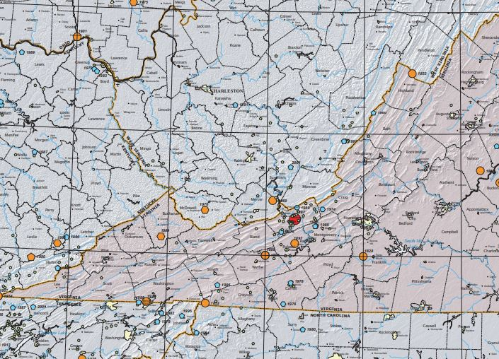 That loud boom residents heard across southwest Virginia last night was not a plane, but actually an earthquake. And then another.