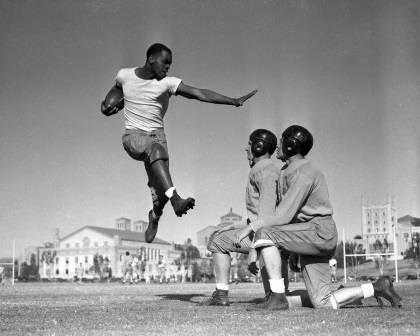 An upcoming lecture looks at one of America's favorite pastime sport- football- specifically college football- through the experience of African American players during the Civil Rights era. PHOTO: Courtesy Lynchburg Museum)