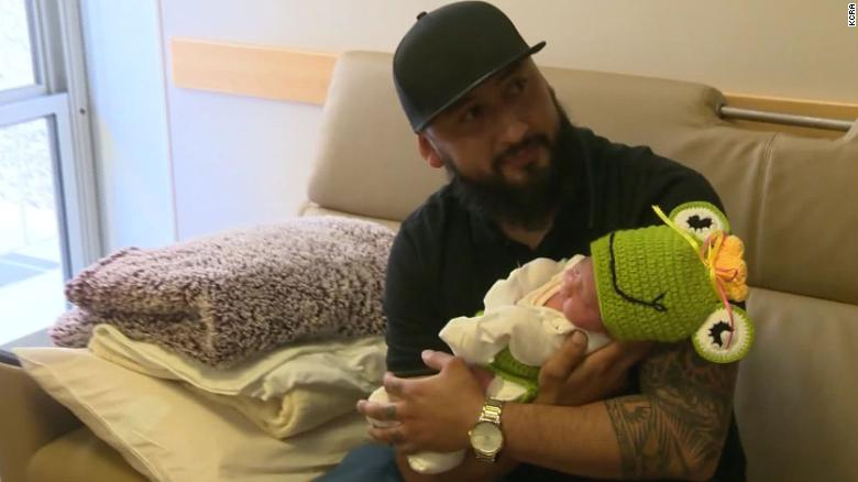 Baby Camila was born on Leap Day at Mercy San Juan Medical Center near Sacramento, California. (Photo: Courtesy CNN)