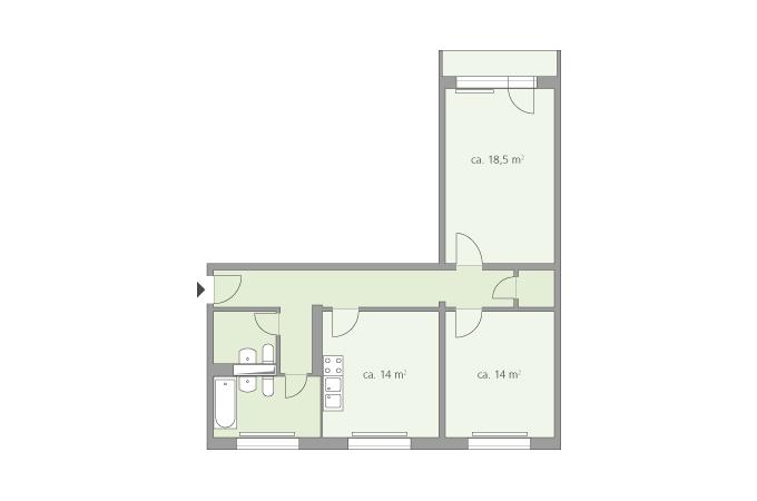 Rosenfelder Ring  Unsere Wohnanlagen  Wohnungsbaugenossenschaft VORWRTS eG