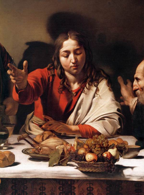 File Michelangelo Merisi Da Caravaggio - Supper Emmaus