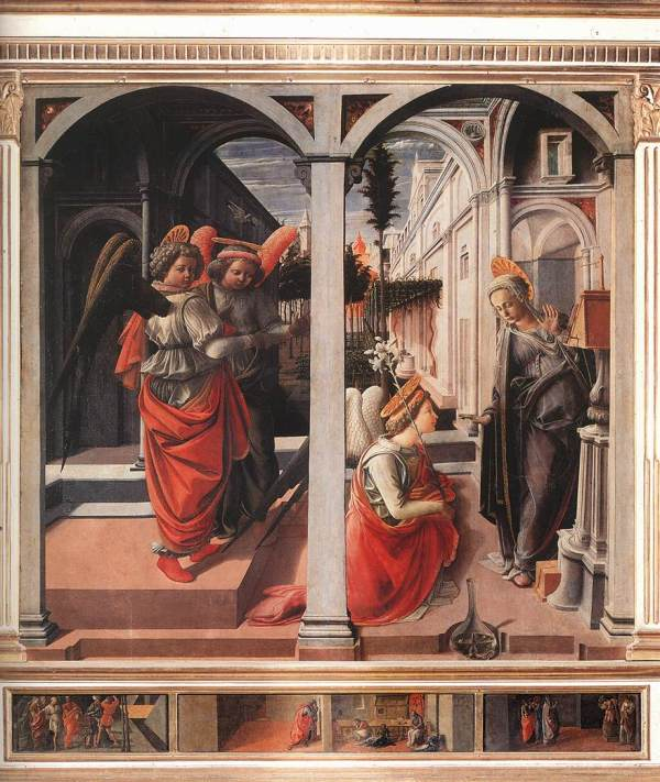 Lives Of Saints In Art Annunciation Scenes