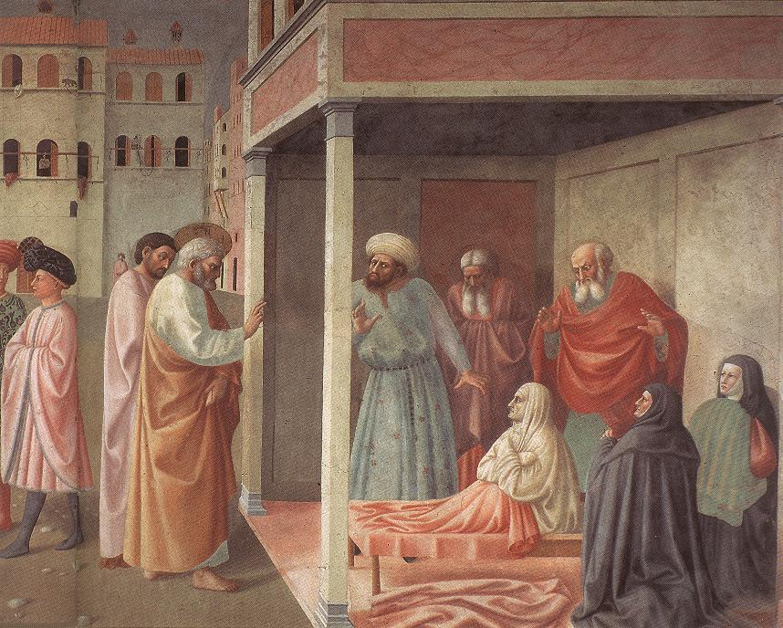 Healing of the Cripple and Raising of Tabatha