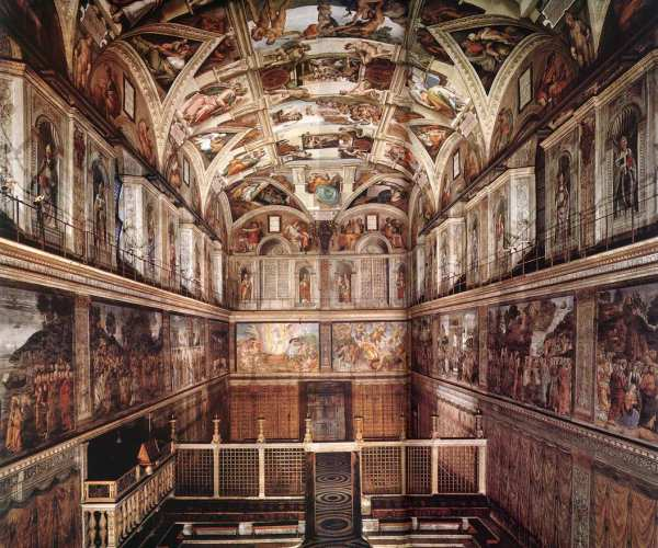 Web Of Art - Visit Sistine Chapel