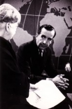 """WGBH -Ed Murrow talks with Eleanor Roosevelt for """"Prospects of Mankind"""" 1961"""