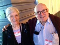 21. Barbara Eaton and Ed Salners