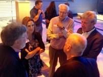 24. Ed Baumeister, Sandra Tyler, John Carver, Sam Tyler, and Bob Ferrante