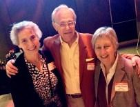 25. Lynn Cooper, Michael Ambrosino, and Sharon Pucker Rivo