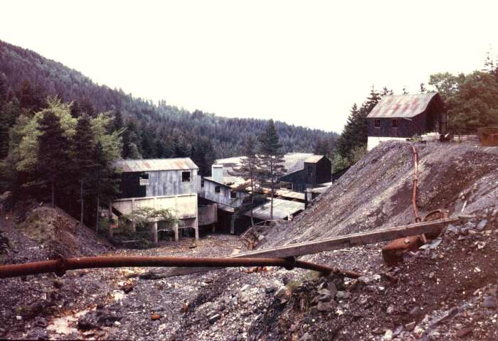 Parc Mine - Lead and Zinc - Aberconwy 1969