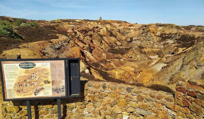 Parys Mountain Copper Mine - Anglesey 2008