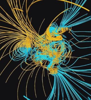 Earth's changing magnetic poles