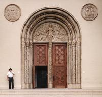 Sacred Heart Church Doors - WGH Woodworking