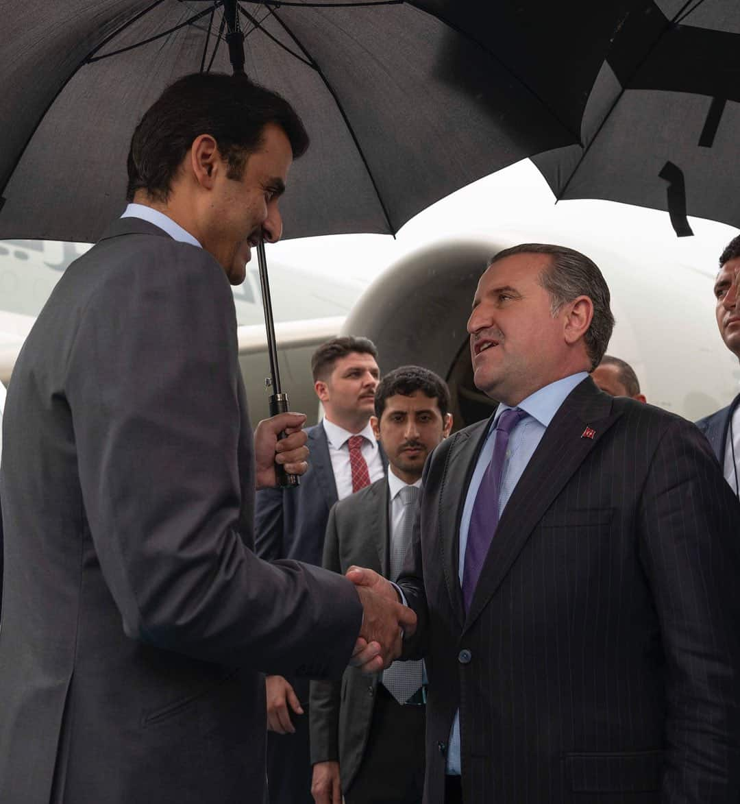 Amir attends inauguration ceremony of Turkish President