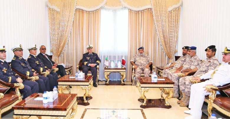 Chief of Staff meets Commander of Algerian Navy