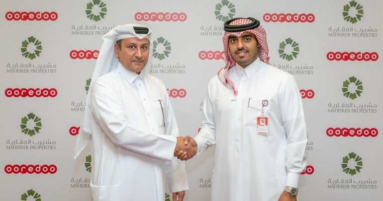 Ooredoo and Msheireb partner to provide fibre infrastructure
