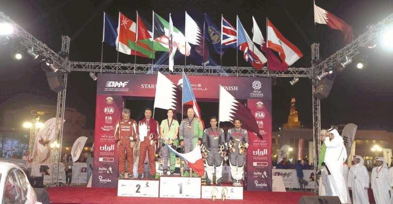 Stajf is first non-Arab winner of Qatar rally since 1986