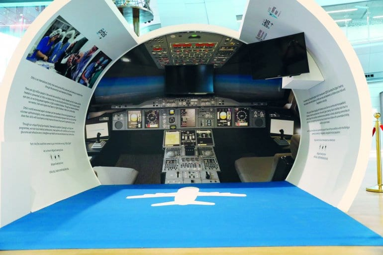 HIA and Orbis launch healthcare awareness booth