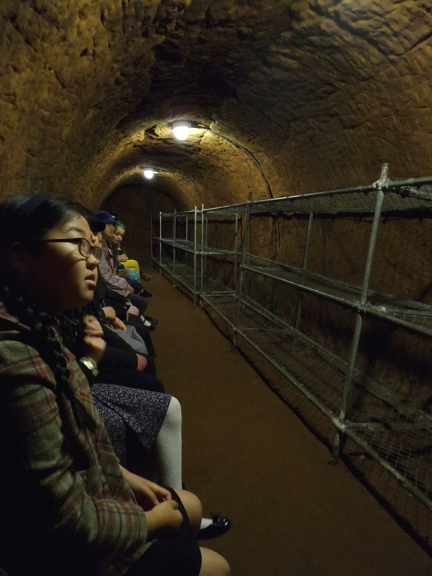 A visit to Stockport Air Raid Shelters  Withington Girls