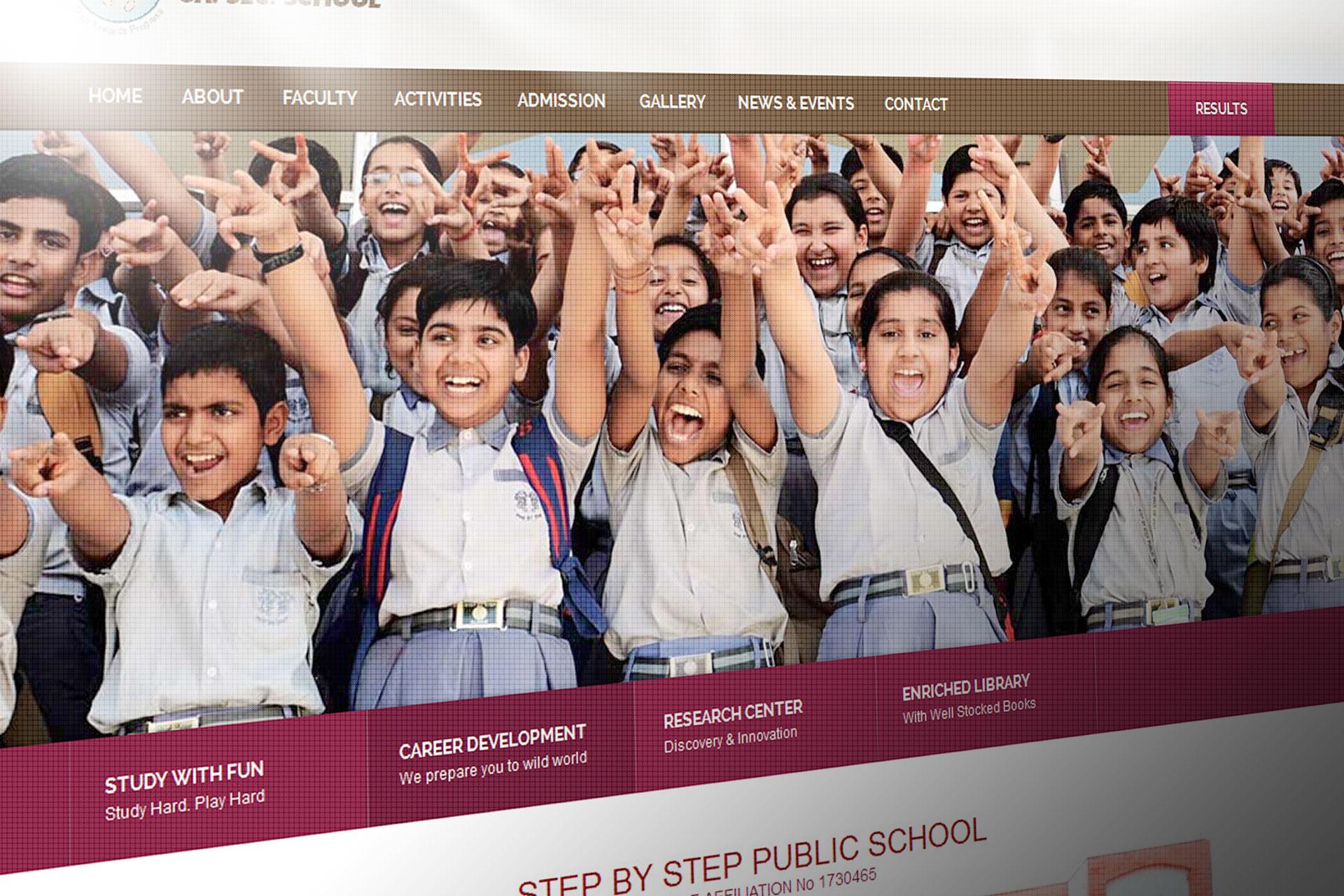 step by step school alwar