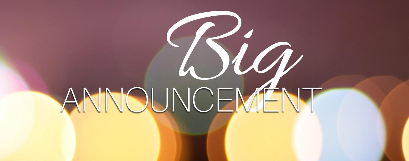 big announcement this monday