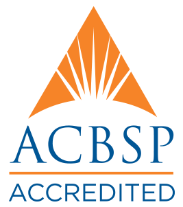 WGU's College of Business programs are accredited by the Accreditation Council for Business Schools and Programs (ACBSP).