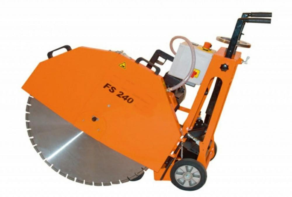 HIRE 600MM FLOOR SAW ELECTRIC CUTS 240MM  944  WH