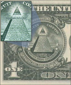 Reverse of the Great Seal: All Seeing Eye