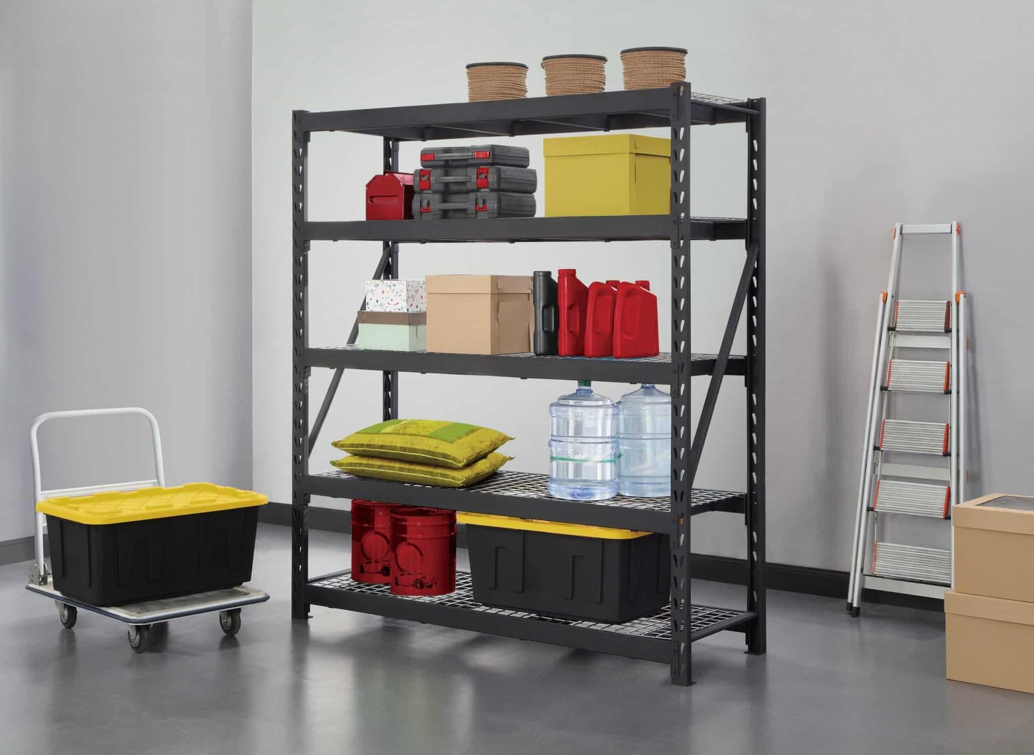 gorilla rack 5 tier industrial rack