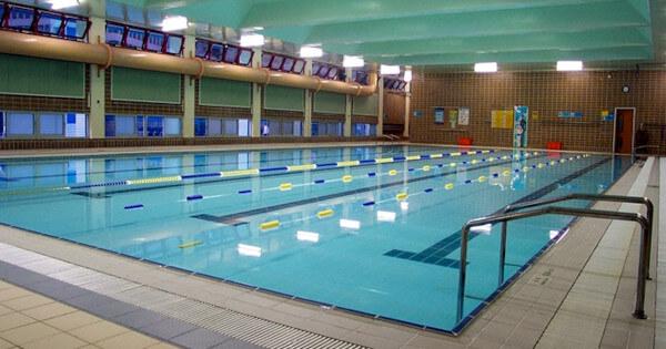 Training pool (Length 25m x Width 12m, Depth: 0.84m-1.07m)
